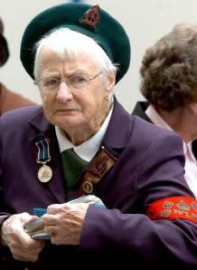 Old english woman